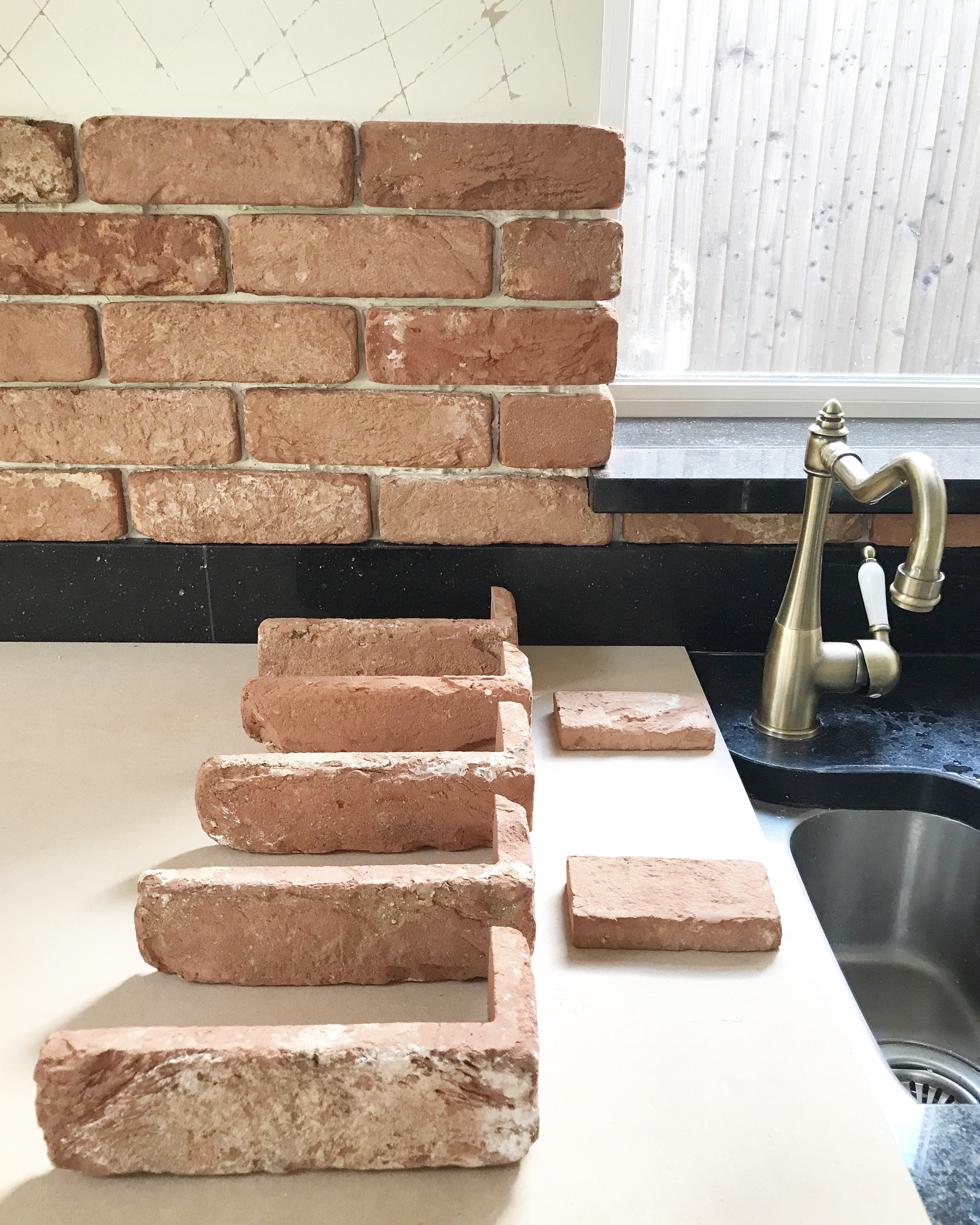 We Also Have A Medium Sized Window On Our Kitchen Wall, That Would Be  Included In The Brick Wall, With A Lot Of Corners And Edges That I Was  Initially ...